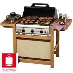 Barbecue/Plancha ADELAIDE 3 WOODY - Campingaz