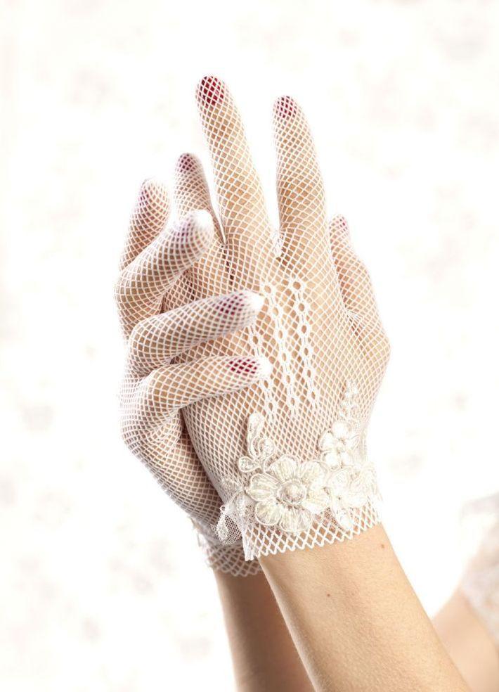 Кружевные перчатки 3