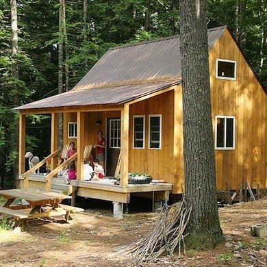 Assembly required 15 diy kit homes cabins pinterest for Diy cabins and cottages