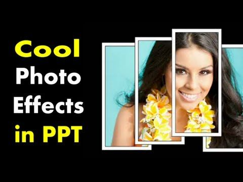 How to Make Cool Photo Effects in PowerPoint - PowerPoint Picture Tutorial - YouTube