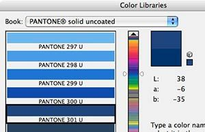 How to use Photoshop to find the CMYK equivalent of a Pantone color.