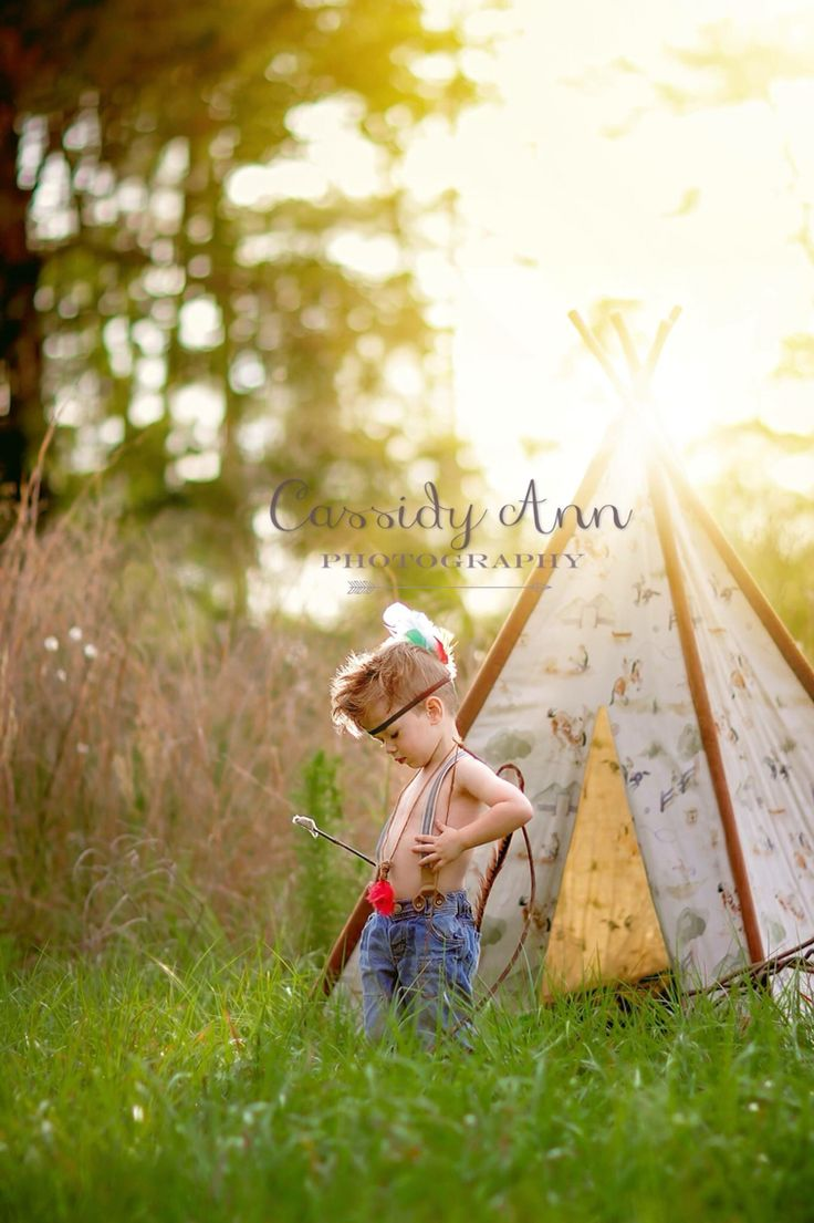 Teepee photography toddler boy field Indian child newborn tent boys photo prop www.CassidyAnnPhotography.com