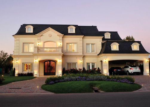 Casa estilo Clásico Francés