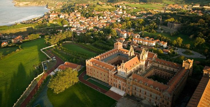 Universidad Pontificia de #Comillas #Cantabria #Spain #University #Travel