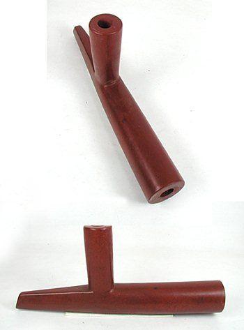 Authentic Native American catlinite pipestone Chiefs pipe by Lakota artist Alan Monroe