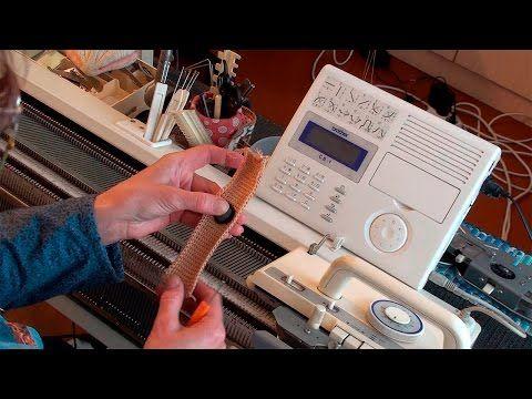 Планки на вязальной машине. Расстановка игл для двухфонтурного вязания. - YouTube