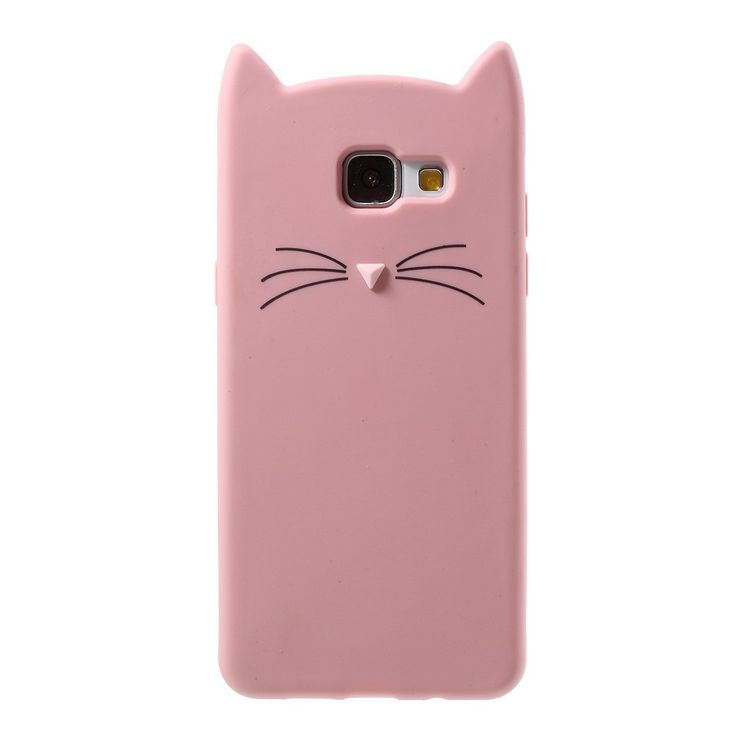 Coque Samsung Galaxy A5 2016 Design Chat - Rose