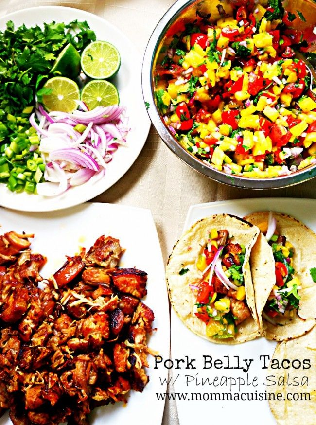 Pork Belly Tacos with Pineapple Salsa #McCormickTacoNight - See more at: http://mommacuisine.com/2013/05/04/recipe-pork-belly-tacos-with-pineapple-salsa-by-momma-cuisine/#sthash.P1SqFwOQ.dpuf