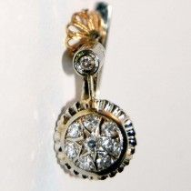Vintage diamond rings. $650 http://www.astercollection.com/jewelery-selection/vintage-diamond-earrings.html