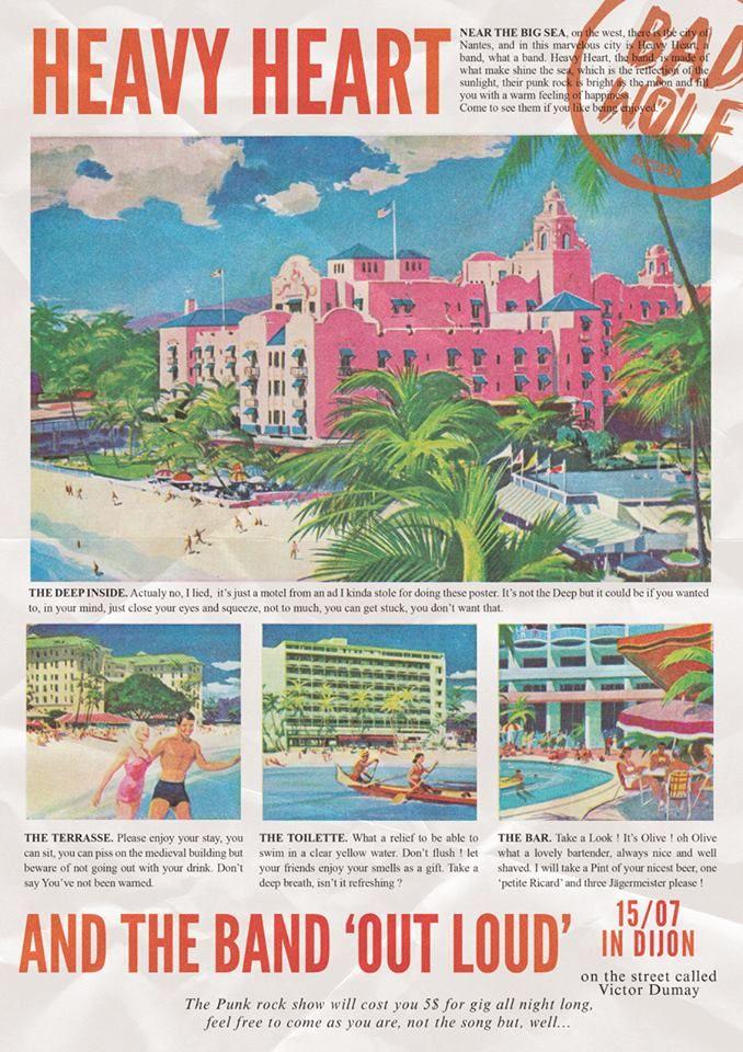Heavy Heart Out Loud 15 07 2017 Waikiki Hotels Vintage Hawaii Waikiki Hawaii