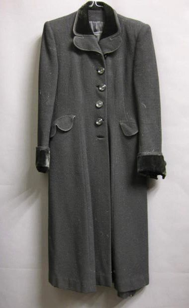 1930's lady's coat from the Mab's Collection