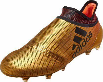 wholesale dealer 1f8e0 4bab9 adidas X 17 FG – Tactile Gold Metallic/Solar Red   Soccer ...