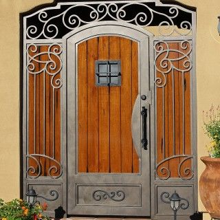 First Impression Security Doors With Images Security Door Garden Gates And Fencing Wood Gate