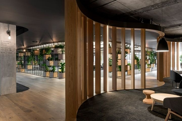 Slacks European headquarters by ODOS Architects Dublin  Ireland