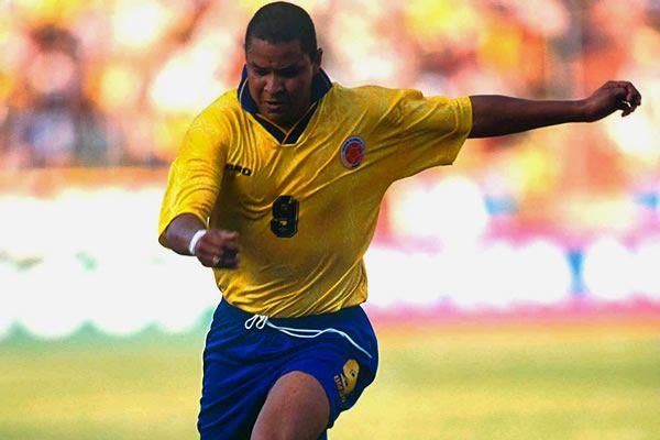 Ivan René Valenciano: jugador histórico de la selección Colombia nacido en Barranquilla (Atlántico)