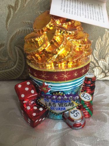 Christopher-Radko-Las-Vegas-Christmas-Ornament-034-High-Rollers-034