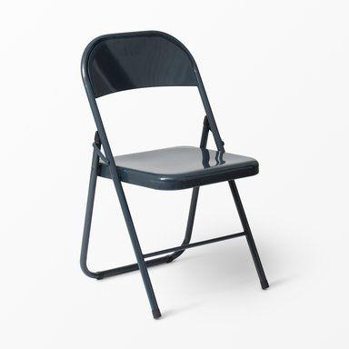 Hopfällbar stol Rex, 78x46 cm, petrol