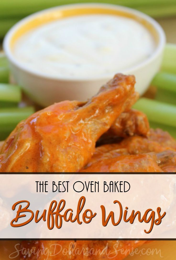 This baked buffalo chicken wings recipe is at the top of my list for this years football fun.   via @KristieSawicki
