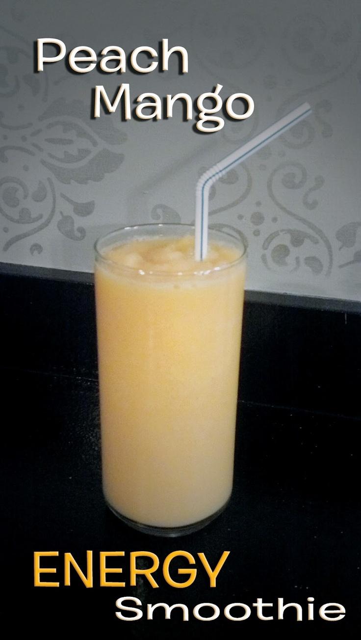 Peach Mango Engery Smoothie Jillean Jean The Damask
