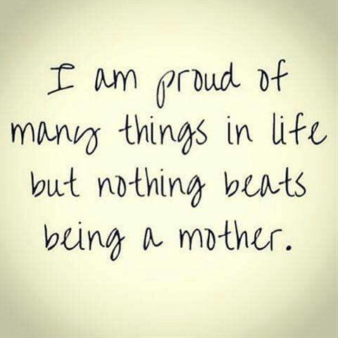 I proud of myself