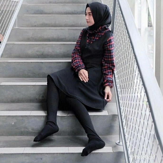 Legging Wudhu Legging Bahan Kaos Spandex Import Full Menutup Kaki Bisa Dibuka K Atas Kalau Mau Wudhu Ga Usah Pake Kaos Kaki Lg Gaya Hijab Legging Gaya