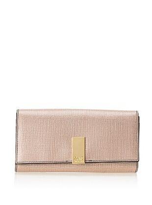 54% OFF Zac Zac Posen Women's Hayden Trifold Checkbook Wallet, Blush