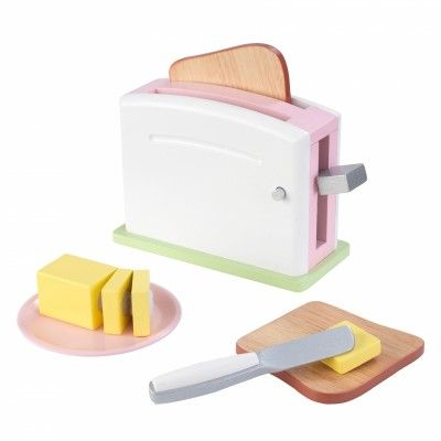 With Our Good Eats Toaster Set, Young Chefs Can Make Breakfast For The  Wholeu2026