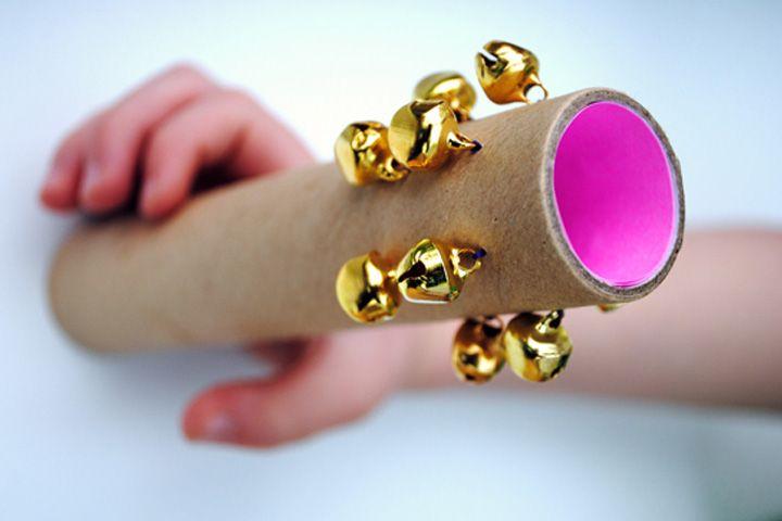 Musical Instrument Crafts For Kids Cardboard