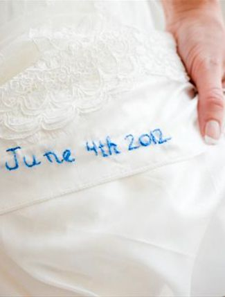 Do You Have Your Something Blue? | The Knot Blog