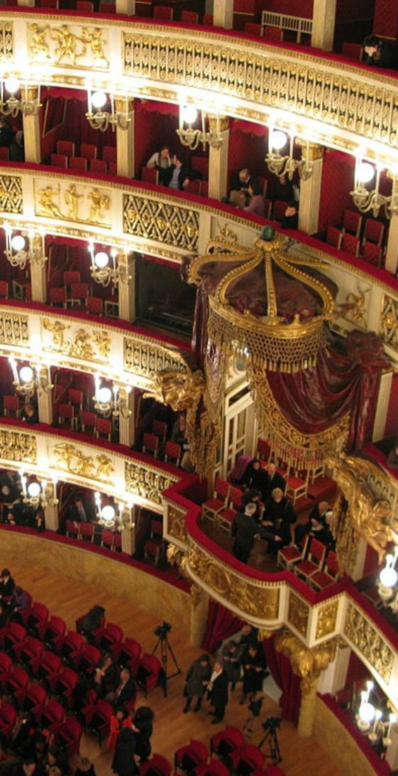The Bolshoi Theatre, Moscow, Russia ~ founded in 1776 upon request of Catherine II of Russia.