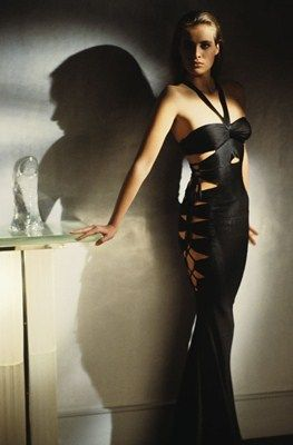 Circa 1986 : Azzedine Alaia dress
