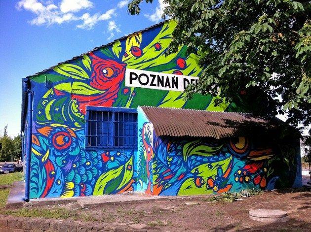 Swanski i Let's Color by Dulux – Poznań Dębiec