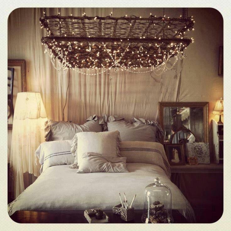 Bed Spring Chandelier Nest Pinterest