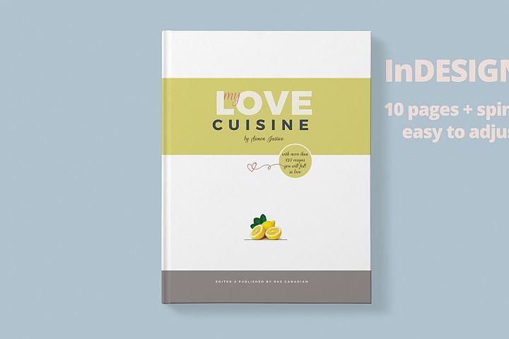 Recipe Book Magazine Template, Graphic Design Resources