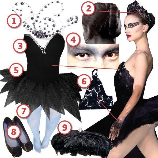Black Swan Costume Idea DIY