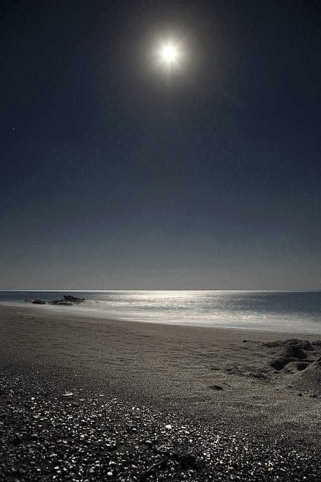 Sheer magic.. August Full Moon at the beach of Triopetra, on the south coast of Rethymno, Crete. https://www.facebook.com/SentidoPearlBeach/photos/pb.183158851731783.-2207520000.1446482832./874471739267154/?type=3