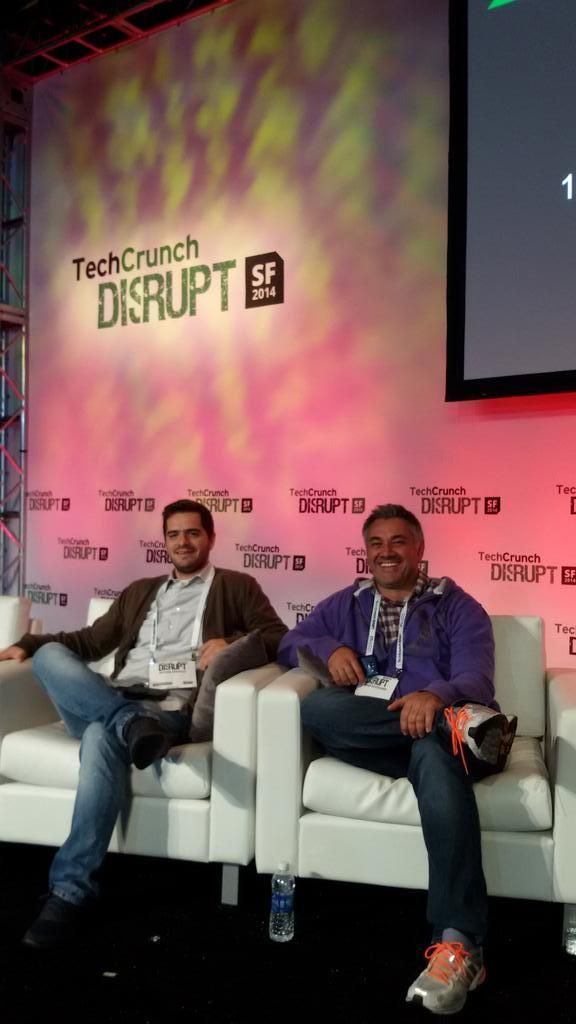 A fireside chat for #TheAccelerator2014 startups during TechCrunch #DisruptSF2014 event #MetavallonUS2014