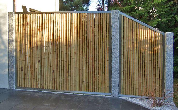 Pin von juergen rost auf Sichtschutz in 2020 Bambus