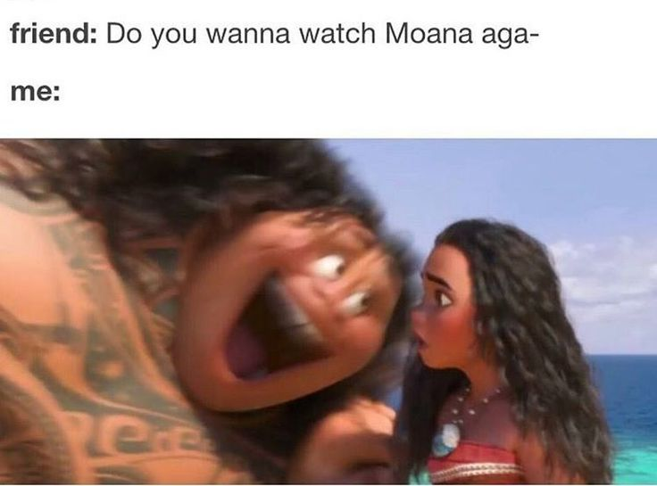 No lie. I went to watch Moana in theaters two days in a row, and I'm so proud of myself