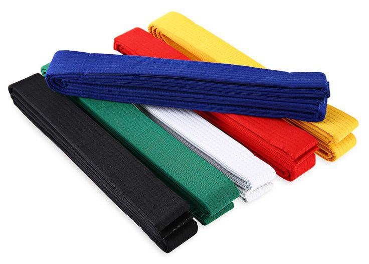 11Colors 1pc Taekwondo Belt Karate Martial Arts Taekwondo Belts 5m Cotton Polyester Professional TKD Belts #Affiliate