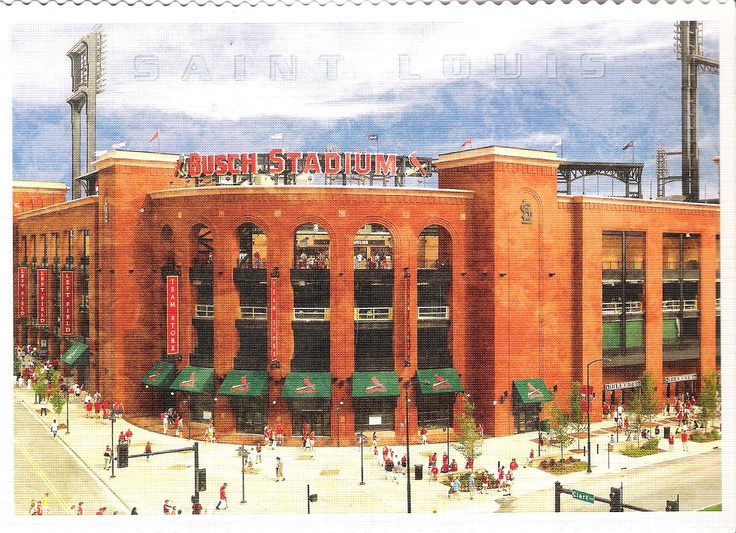 Saint Louis Cardinals Stadium, Missouri, USA. From my friend Samara.