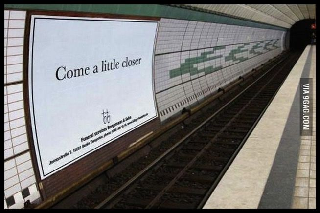We'll stay where we are, thanks. For proper placement of your outdoor #adverts, buy at blur. http://ow.ly/MhfWF