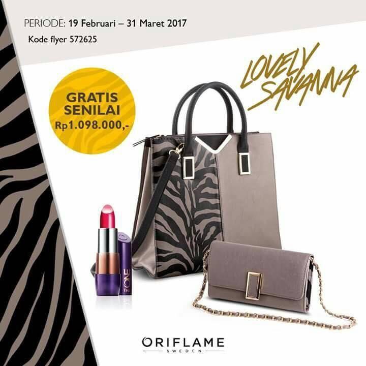 Promo gabung Oriflame 19 februari - 31 Maret 2017