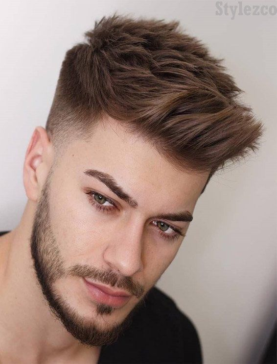 Wonderful Ideas Of Mens Short Haircuts For 2019 Men Haircut Styles Trending Hairstyles For Men Mens Haircuts Short