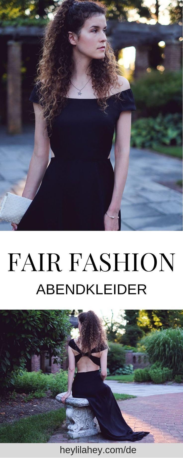 My Ethical Black Tie Dress  Nachhaltige mode, Vegane mode, Abendkleid