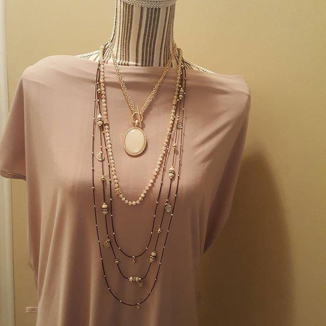Avery, Sway and Vintage Vibe! #premierdesigns #jewelrylady #layeringnecklaces