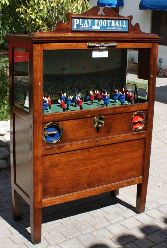 Vintage Play Football Penny Arcade Game Hubby Found One