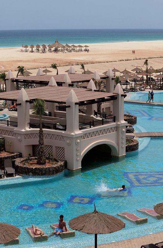 So excited....Pool, beach, sea. 14 days.Riu Touareg Cape Verde, Africa