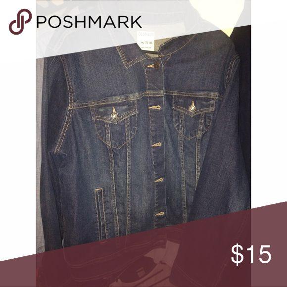 Old navy jean jacket! Dark to medium blue jean jacket. Barely worn. Old Navy Jackets & Coats Jean Jackets