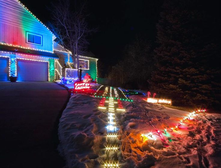 9 best santa landing strip images on pinterest christmas crafts santa runway lights mozeypictures Gallery